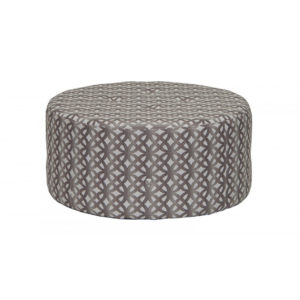 1406 ottoman, round ottoman, custom, custom order, made in canada, canadian made, accent piece, accent furniture