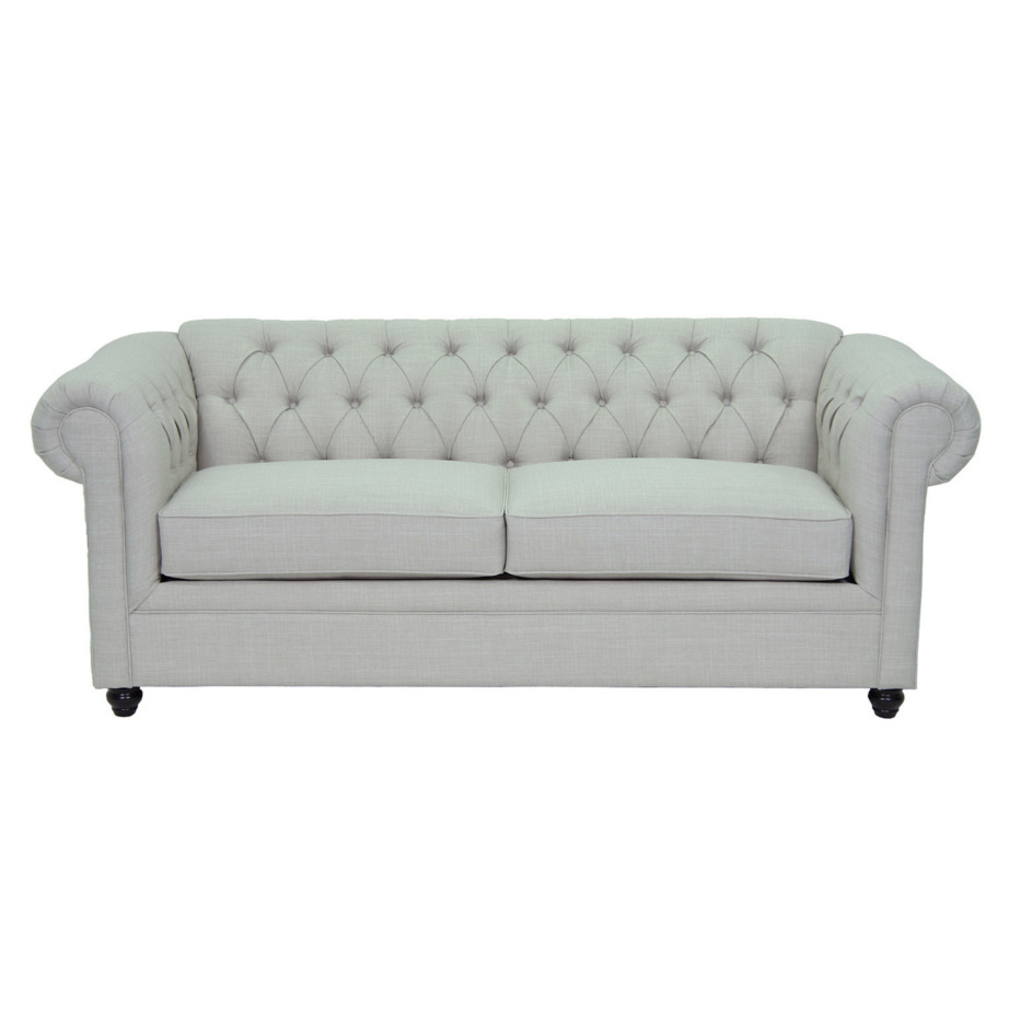 Tufted cigar sofa home envy furnishings canadian made for Tufted sectional sofa canada