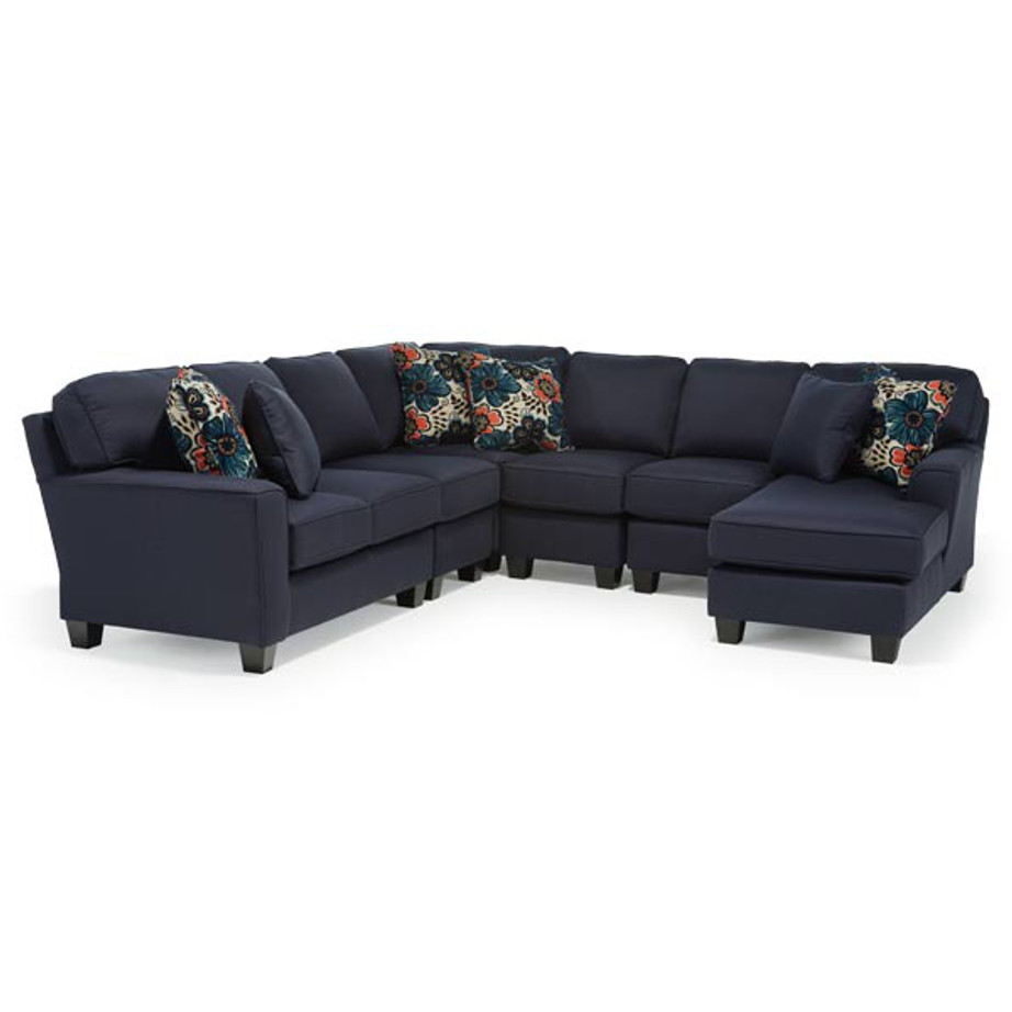 Annabel track arm sectional home envy furnishings for Annabelle chaise