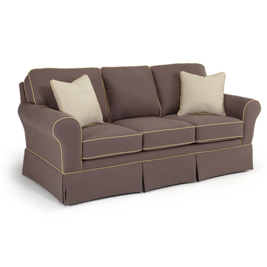 Annabel sock arm sofa home envy furnishings custom made for Living room furniture configurations