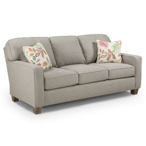 modern annabel sofa with track arm style