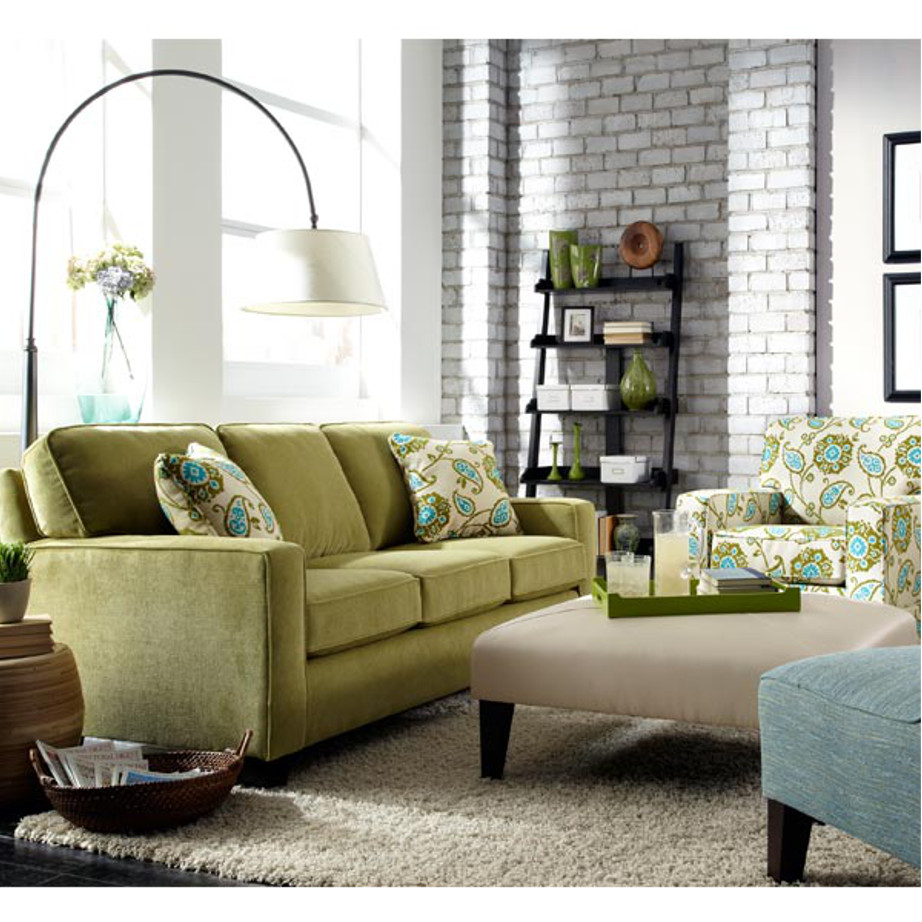 Annabel track arm sofa home envy furnishings canadian made furniture store for Living room furniture configurations
