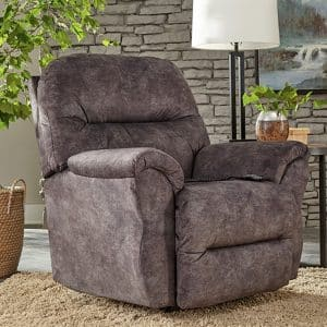 Bodie Recliner wth Power in Soft Polyester Fabric