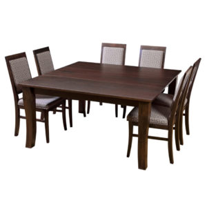 essex square table, Dining room, dining room furniture, solid wood, solid oak, solid maple, custom, custom furniture, dining table, dining chair, made in Canada, Canadian made