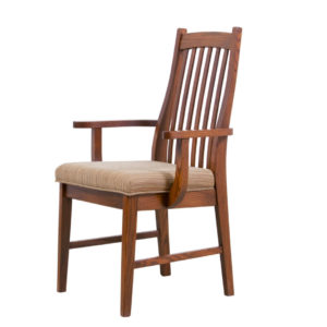 mission arm chair, Dining room, dining room furniture, solid wood, solid oak, solid maple, custom, custom furniture, dining chair, made in Canada, Canadian made