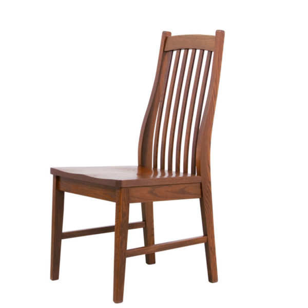 mission dining chair, Dining room, dining room furniture, solid wood, solid oak, solid maple, custom, custom furniture, dining chair, made in Canada, Canadian made