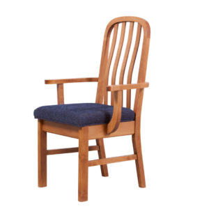 new design arm chair, Dining room, dining room furniture, solid wood, solid oak, solid maple, custom, custom furniture, dining chair, made in Canada, Canadian made