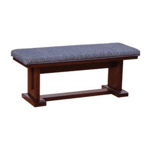 newport bench, Dining room, dining room furniture, solid wood, solid oak, solid maple, custom, custom furniture, dining bench, made in Canada, Canadian made