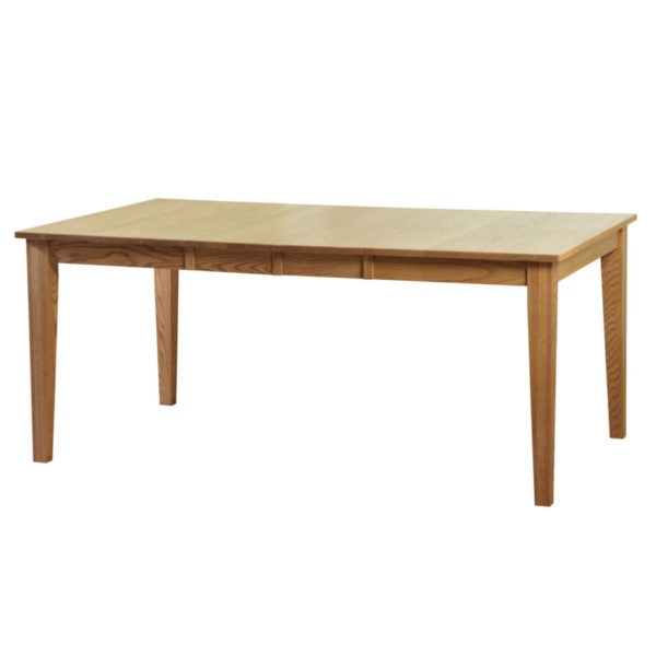 shaker table, Dining room, dining room furniture, solid wood, solid oak, solid maple, custom, custom furniture, dining table, made in Canada, Canadian made