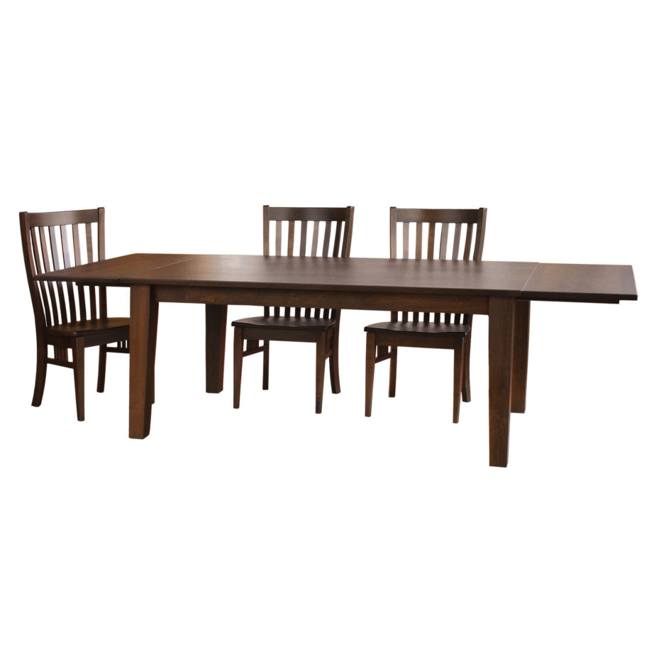 harvest dining room table shaker harvest table home envy furnishings solid wood 3928