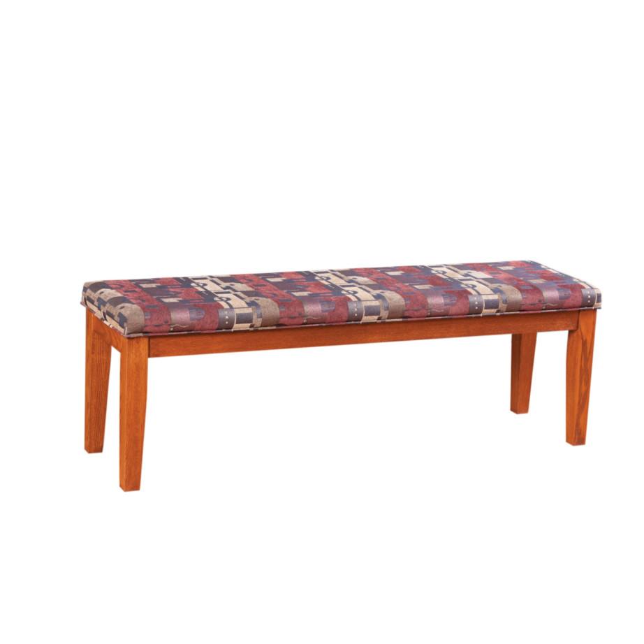 Shaker Bench, Dining room, dining room furniture, solid wood, solid oak, solid maple, custom, custom furniture, dining bench, made in Canada, Canadian made