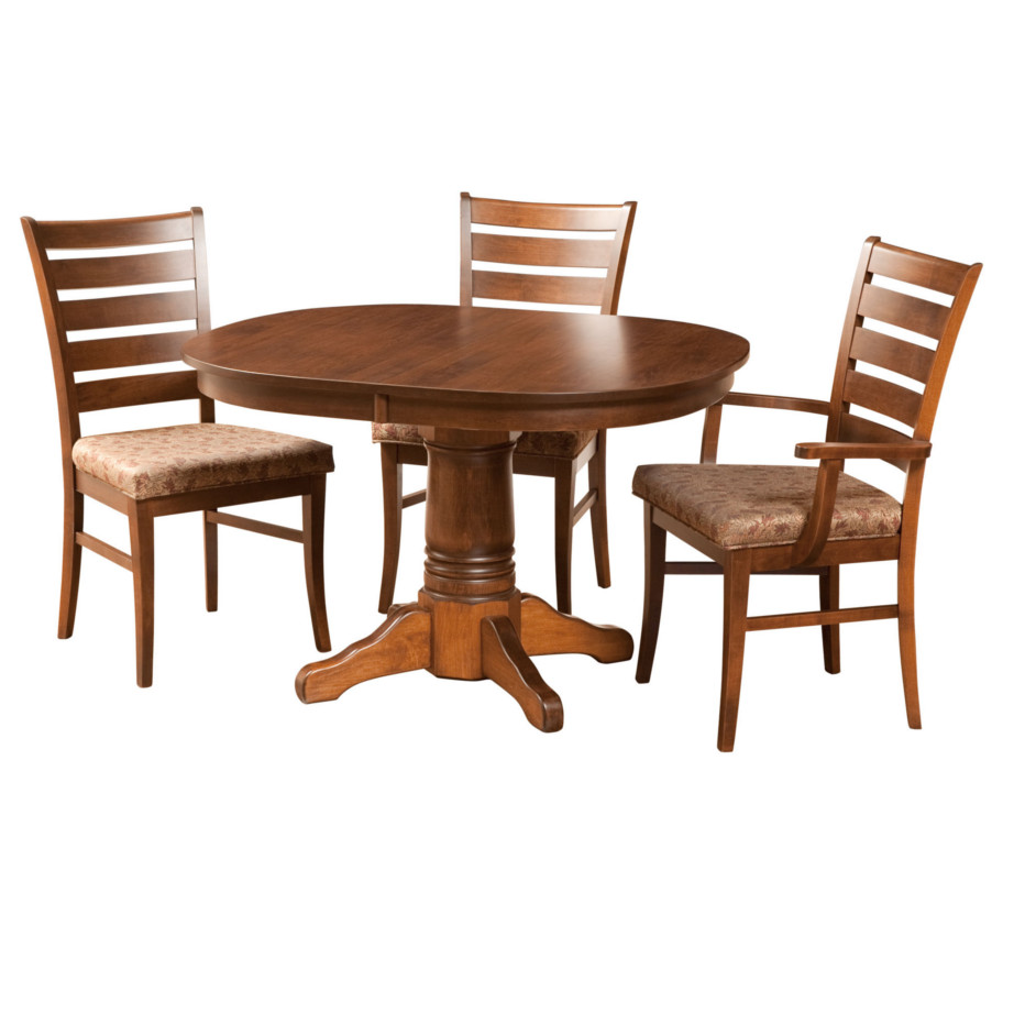 Square Round Table Home Envy Furnishings Solid Wood