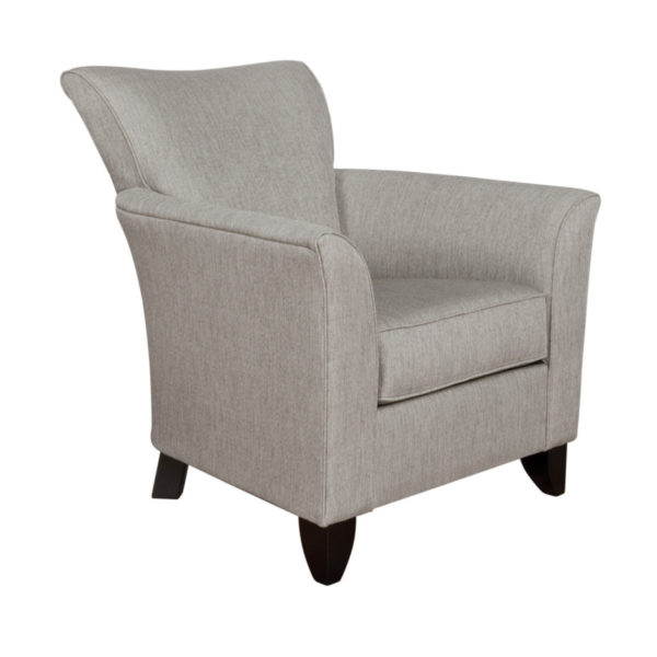 canadian made abby club chair with flared arms