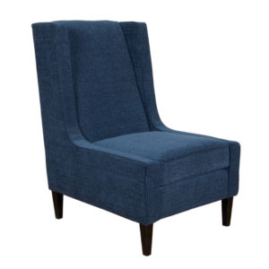 modern armless atwood wing style accent chair