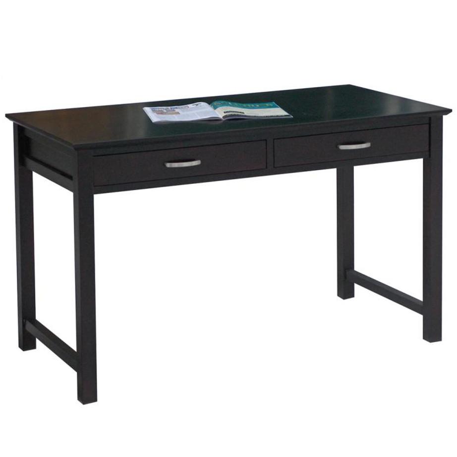 Rustic Americana Hardwood Executive Desk Home Office: Home Envy Furnishings: Solid Wood
