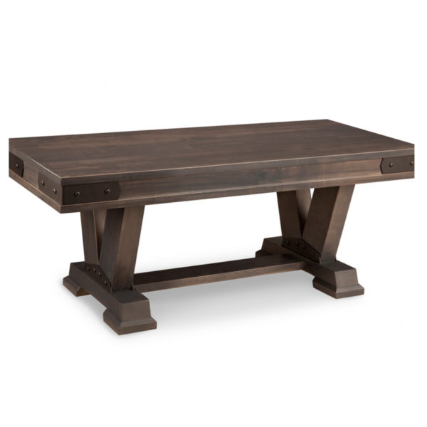 custom size solid wood chattanooga bench for dining table