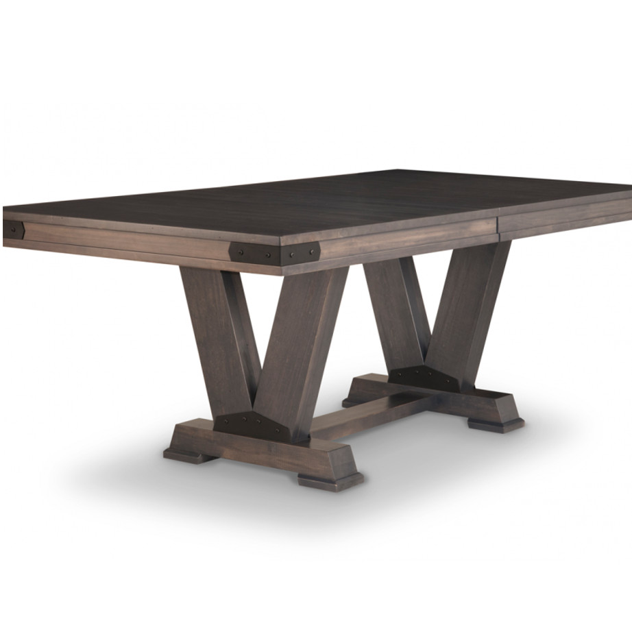 Chattanooga Trestle Table Home Envy Furnishings Solid