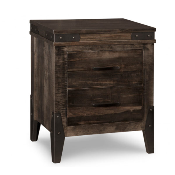 canadian made by handstone solid wood chattanooga night stand