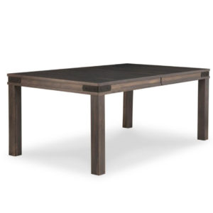 Chattanooga Leg Table, Dining room, dining room furniture, solid wood, solid oak, solid maple, custom, custom furniture, dining table, sideboard, dining table, extendable table, rustic, rustic design, solid cherry, maple, heritage maple, oak, cherry,