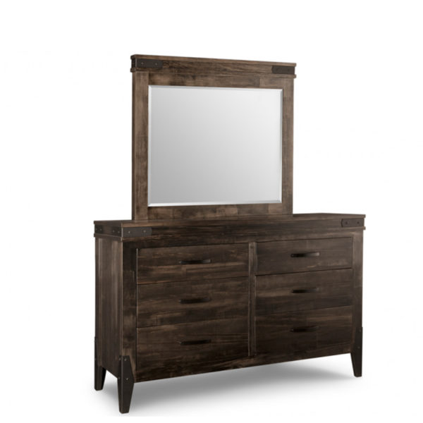 chattanooga dresser, Heritage maple, solid wood, solid maple, solid oak, made in canada, canadian made, custom furniture, rustic, rustic furniture, storage, storage ideas, organization, chest, dresser, man chest, bedroom, bedroom furniture, mirror