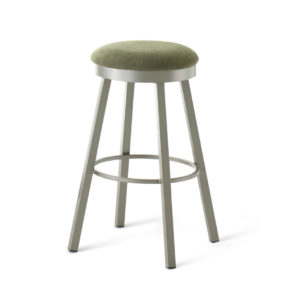 connor stool, bar height stool, bar height, counter height, counter height stool, custom furniture, made in canada, canadian made, solid wood, kitchen, dining room, kitchen furniture, dining room furniture, metal, custom, customizable, swivel stool, backless, backless stool