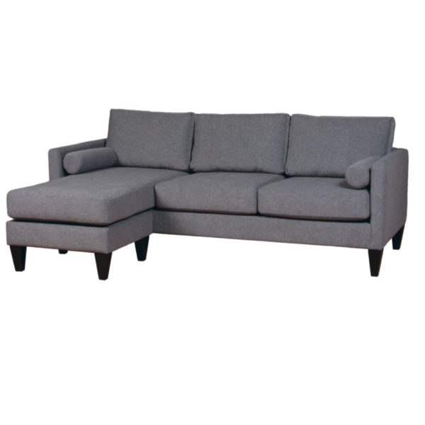 conrad sectional, upholstered, sofa, loveseat, chair, made in canada, canadian made, upholstery, custom, custom furniture, living room furniture, custom order, choose your fabric, sectional, custom sectional, chaise, moveable chaise