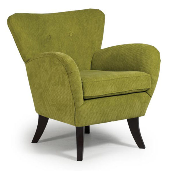 best home furnishings, modern chair, tub chair, accent chair, sitting chair, upholstered, custom chair, wood frame, elnora club chair,