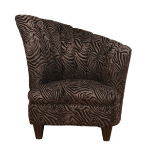 traditional modern emily fan chair from van gogh