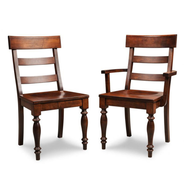 georgetown dining chair, Dining room, dining room furniture, solid wood, solid oak, solid maple, custom, custom furniture, storage, storage ideas, dining chair, made in canada, Canadian made, solid cherry, cherry, maple, oak, heritage maple