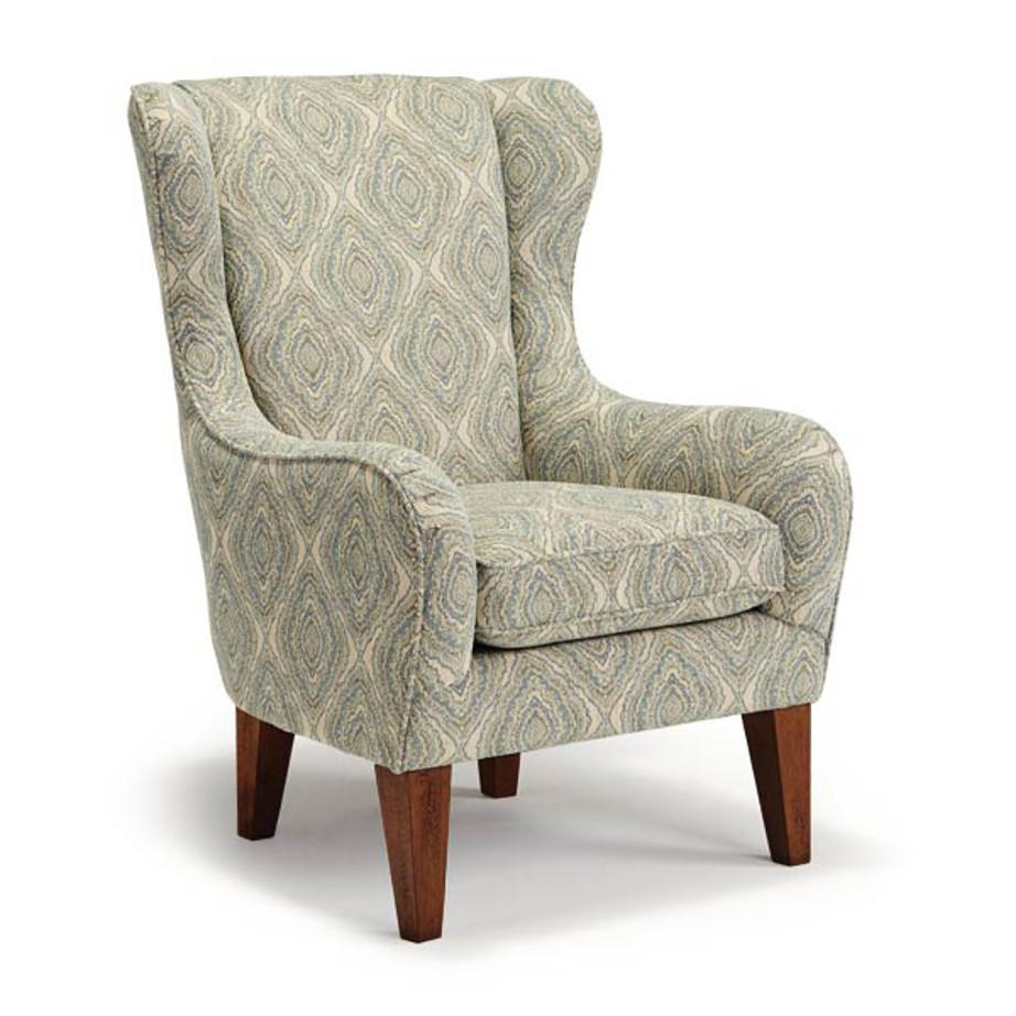Lorette Wing Chair Home Envy Furnishings Custom Made