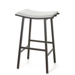 nathan stool, bar height stool, bar height, counter height, counter height stool, custom furniture, made in canada, canadian made, solid wood, kitchen, dining room, kitchen furniture, dining room furniture, metal, custom, customizable