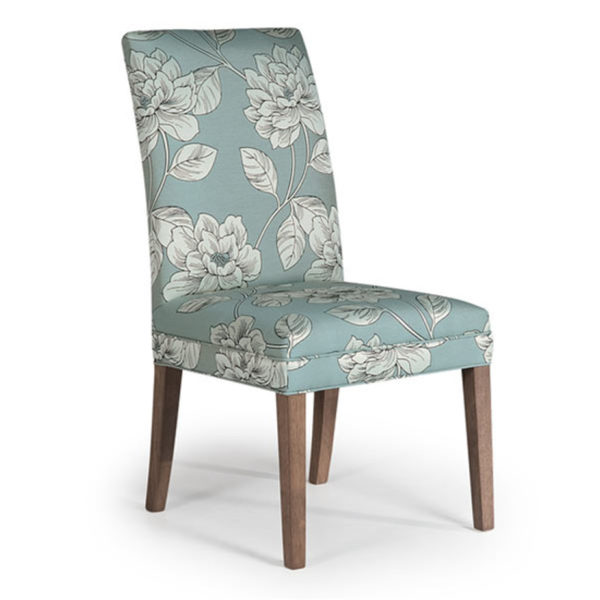 odell parsons chair, Dining room, dining room furniture, custom, custom furniture, storage, storage ideas, dining chair, parsons chair, upholstery, upholstered, upholstered dining chair, fabric, made in USA, made in america