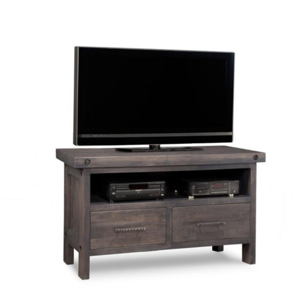 small size rafters tv console stand by handstone