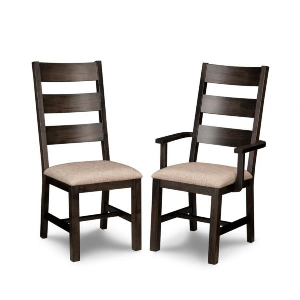 handstone solid wood rafters most popular dining chair with fabric seat option