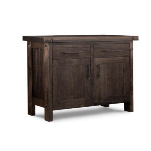 rafters 2 door sideboard, Dining room, dining room furniture, occasional, occasional furniture, solid wood, solid oak, solid maple, custom, custom furniture, storage, storage ideas, dining cabinet, sideboard, made in canada, Canadian made, solid cherry, cherry, maple, oak, heritage maple