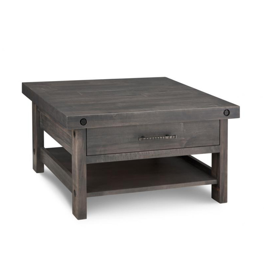 living room, living room furniture, occasional, occasional furniutre, heritage maple, maple, oak, solid wood, cherry, solid maple, solid oak, solid cherry, buxton cherry, made in canada, canadian made, custom, custom furniture, coffee table, stprage, storage ideas, custom options,