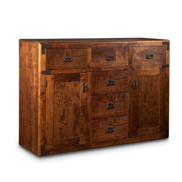 made in canada by the amish saratoga sideboard in custom solid wood finish