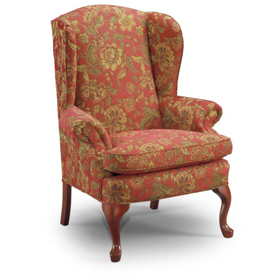 Upholstered, chair, upholstery, custom, custom furniture, living room furniture, custom order, choose your fabric, sectional, custom sectional, accents, accent chair, accent fabrics, traditional, wing back chair, queen anne chair