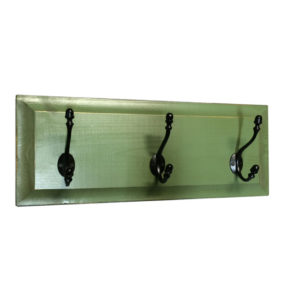Farmhouse Coat Rack, 3 Hook Rack, furniture, pine, storage ideas, storage, solid wood, made in Canada, Canadian made, rustic, rustic look, shelves, paint, display, organizer, organize, organization, entry, entryway, mudroom, foyer, hook, hooks