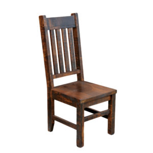 benchmark Dining chair, Dining room, solid wood, maple, rustic maple, made in Canada, dining chair, custom, custom furniture, benchmark