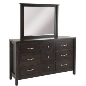 Bowen 9 Dr Dresser , 9 drawer dresser, Dresser, wide dresser, made in Canada, home furnishing
