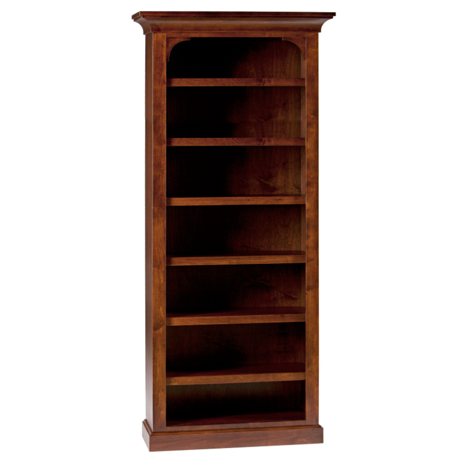 Canterbury Bookcase Home Envy Furnishings Solid Wood