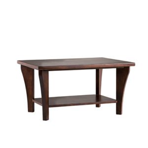 solid wood canadian made canterbury coffee table with legs