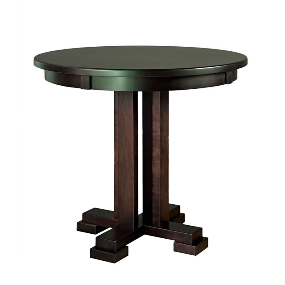 Carolina Round Pub Table Home Envy Furnishings Solid