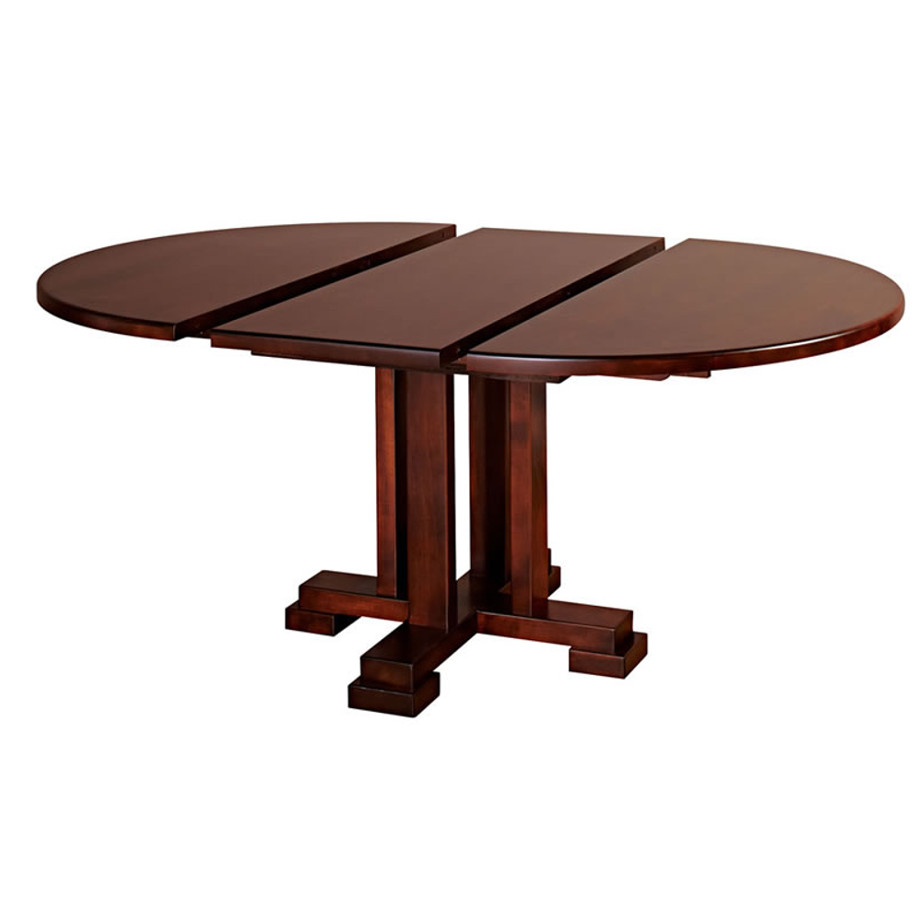 dining room, dining table, custom, custom furniture, custom built, solid wood, wood, solid maple, solid oak, maple, oak, extendable table, pedestal, pedestal table, round table, oval table