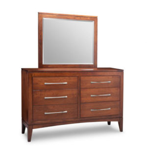 built in canada catalina dresser in solid wood construction