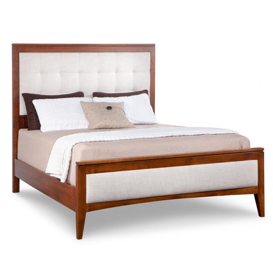 Catalina Upholstered Bed Home Envy Furnishings Solid