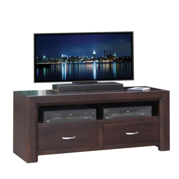 modern style canadian made contempo 48 tv console