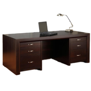 solid modern wood contempo canadian made executive desk