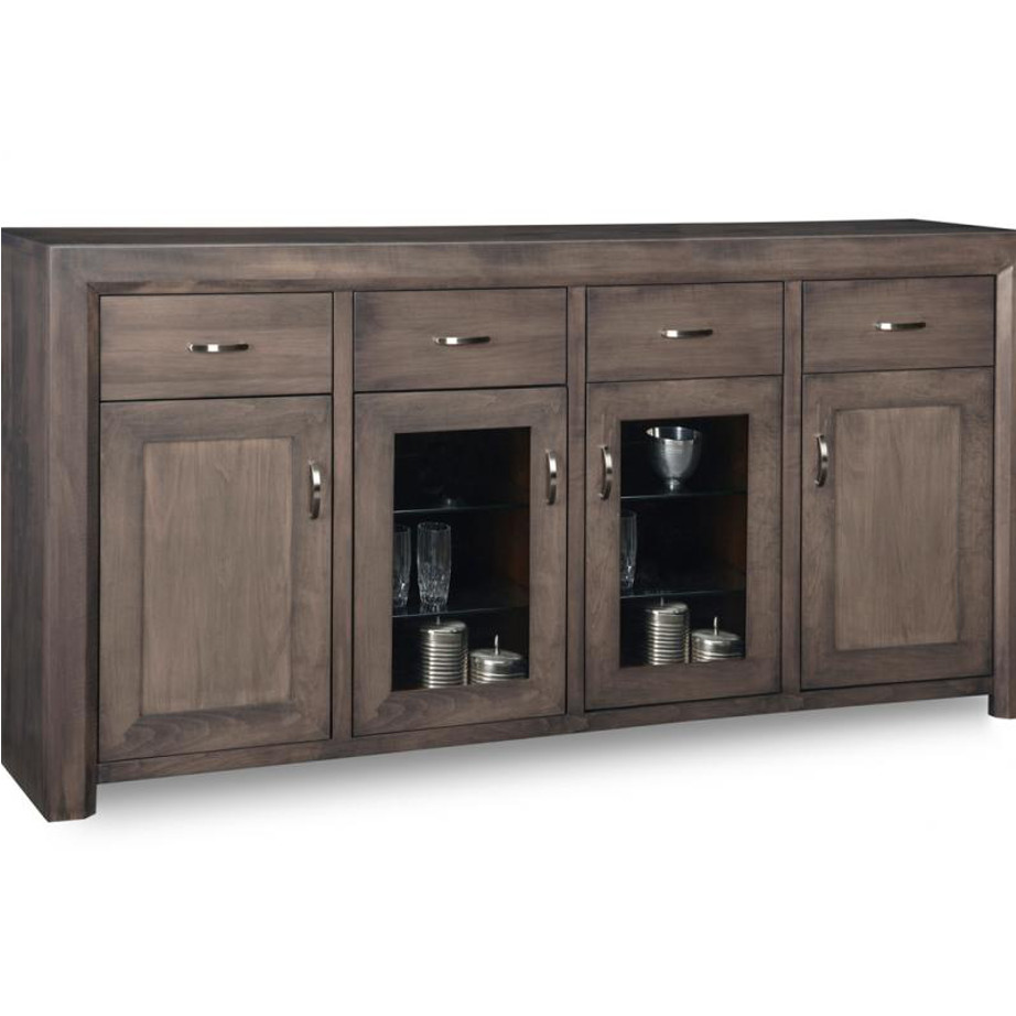 Contempo Large Display Sideboard